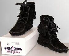 Minnetonka Tramper Ankle Hi Boot - Black - Womens 10