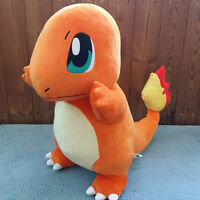 "20"" Pokemon Large CHARMANDER Plush Toy Pokemon GO Stuffed Doll Kids Xmas Gift"