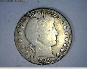 1906-D Barber Half Dollar (75-145  7m1 )