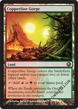 4 Copperline Gorge - Land Scars of Mirrodin Mtg Magic Rare 4x x4