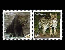 Wild Cats Jaguarundi and Ocelot 2012 Mammals Mic 4025-26, Yt 3225-26 RHM C-3217