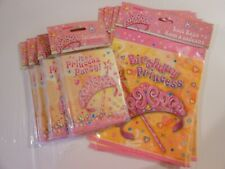 4 Packs Of Princess Party Invitations ~ 5 Packs Of Princess Party Gift Bags