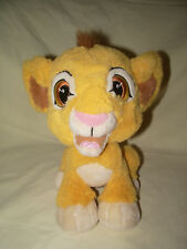 """ PELUCHE TOUTE DOUCE SIMBA ROI LION KING DISNEYLAND PARIS DISNEY 23 CM"