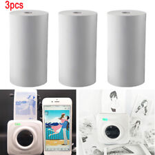 3 Rolls Thermal Printing Paper 57 x 30mm Bill Receipt Papers for Paperang New