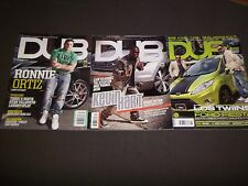 2000S DUB MAGAZINE LOT OF 3 ISSUES - KEVIN HART RONNIE ORTIZ LOS TWINS - R 160