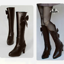 1/3 BJD Shoes Dollfie DREAM High heels Boots Dollmore AOD DOD LUTS MID AF #Brown