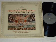 KARL RICHTER-G.F. Handel: Fireworks Music (1973) ARCHIV German Pressing LP
