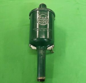 Par Aide Master Golf Ball Washer (Green) w/ Towel Clip and Tool (Very Nice!)
