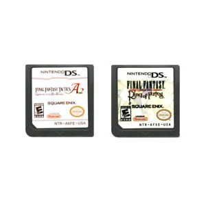 Final Fantasy A2 Grimoire Ring Of Fates Cartridge Video Game Nintendo DS 2DS 3DS