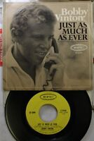 Rock Picture Sleeve 45 Bobby Vinton - Just As Much As Ever / Another Memory On E