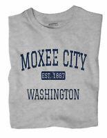 Moxee City Washington WA T-Shirt EST