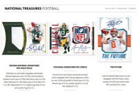 2018 NATIONAL TREASURES FOOTBALL LIVE RANDOM PLAYER 1 BOX BREAK