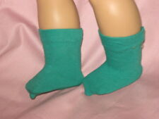 "Teal Green Socks -Made To Fit 18"" American Girls Doll"