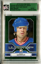 2012-13 ITG Ultimate MARK MESSIER Slabbed Emerald Base New York Rangers SP #/60