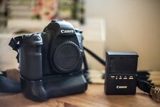 Canon EOS 6D 20.2MP Digital SLR Camera with two batteries, charger and grip
