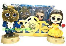 Hot Toys Disney Beauty and the Beast Cosbaby Dan Stevens Beast Emma Watson Belle