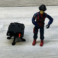 Vintage 1984 GI JOE SCRAP IRON Action Figure Missing 1 Missile, Gun & Detonator