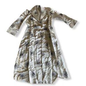 Chinese Kimono Satin Silk Dynasty For Fabric Remnants Damaged Repurpose Vintage