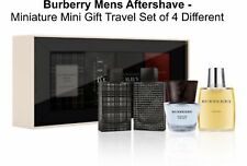 Burberry Mens Aftershave - Miniature Mini Gift Travel Set of 4 - Eau de Toilette