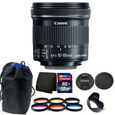 Canon EF-S 10-18mm f/4.5-5.6 IS STM Lens for Canon DSLR Camera Accessory Kit