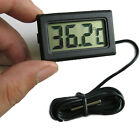 Mini Digital LCD Indoor Outdoor Freezer Temperature Humidity Meter Thermometer