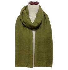 """Solid Viscose Modal Hijab Scarf Wrap Shawl Maxi Soft Islam Muslim Army 72""""x36"""""""