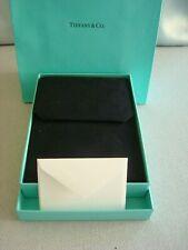 TIFFANY ~ EMPTY NECKLACE PRESENTATION CASE, BOX, CARD, BAG ~ EXCELLENT!