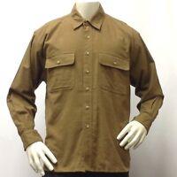 Men's Flannel Shirt -XL -Button Down Long Sleeve Marino Bay Shirt 100% Cotton