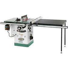 "G0691 Grizzly 10"" 3HP 220V Cabinet Table Saw with Long Rails & Riving Knife"