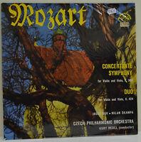 Czech Philharmonic Orchestra, Mozart, Concertante Symphony And Duo, Vinyl, (L2)