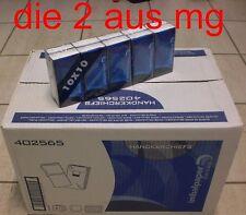 Papiertaschentücher 100% Zellstoff 4-lagig  240 Packungen a 10 Taschentücher