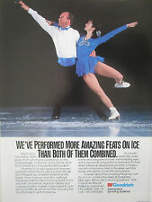 8-11/1991 PUB BF GOODRICH AEROSPACE DE-ICING SYSTEMS PATINAGE ARTISTIQUE ICE AD