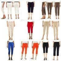 St. John's Bay Women's Capri Crop Pants, 4P 6P 8P 10P 12P 14P 16P 18P