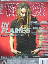 TERRORIZER MAGAZINE MAY 2004 - IN FLAME - DEATH ANGEL - NWOBHM