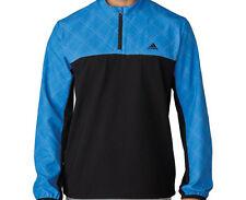Adidas Performance Stretch 1/2 Zip Wind Jacket (M) Blue Af0724