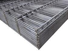 10m Doppelstabmatten ROH 1630mm Zaunfeld Industriezaun Gittermatten Zaun