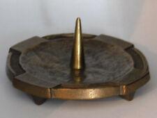 Bronze Kerzenleuchter mit Messingdorn Ø9,7cm