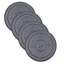 ScSPORTS 4 X 2 5 Kg Hantelscheiben Hanteln Gewicht Gusseisen