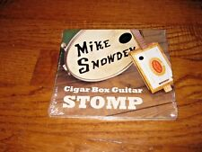 Cigar Box Guitar Stomp by Mike Snowden (CD, Apr-2011) New, Sealed + I Ship Fast