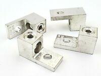 Lot of 4 Morris 90718 Dual Rated Aluminum Mechanical One Hole Lugs 2/0-#14 AWG