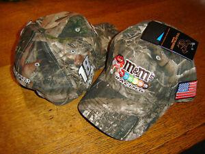 2021 KYLE BUSCH #18 M&M'S RACING Camo Patriotic Snapback Men's Hat New W/TAGS