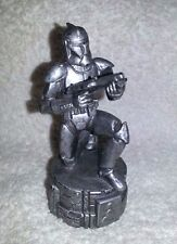 STAR WARS SAGA EDITION SILVER CLONE TROOPER CHESS REPLACEMENT PART PIECE