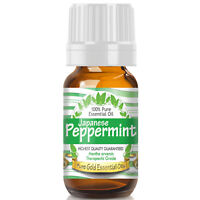 Peppermint Japanese Essential Oil (100% Pure, Natural, UNDILUTED) 10ml