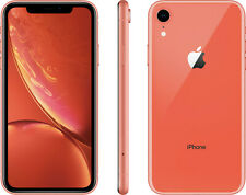 "#PAYDAY Apple XR iPhone 64GB Coral  - 6.1"" Factory Unlocked Agsbeagle"