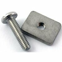 Longboard Fin Screw + Plate Stainless Steal Longboard Screw and Plate