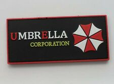 Resident Evil Umberlla LOGO PVC 3D Rubber   Patch SK*  181