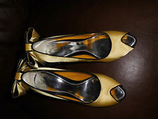 Karen Millen Stiletto Satin Peep Toe Shoes for Women