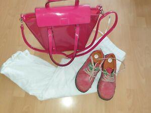 TMA EYES Schuhe Gr. 40 in pink Lagenlook Designer Schuhe neuw