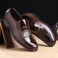Men's Business Office Formal Work Oxfords Leather Loafers Casual Dress Shoes