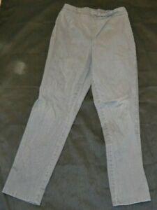 White Stag Slacks Pants Stretch Jeans Kid Boys Size M AVG 8-10 Uniform Children